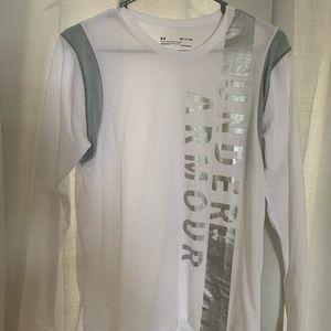 White under armor long sleeve
